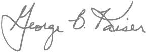 george-kaiser-signature
