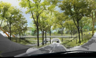 Gathering Place Tunnels Taking Shape To Transform Riverside Drive