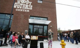 Woody Guthrie Center holds official opening Saturday
