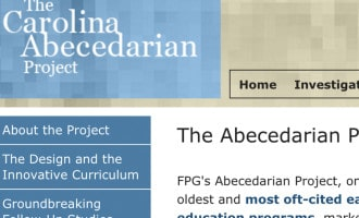 The Abecedarian Project