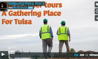 Take another tour with us through A Gathering Place for Tulsa