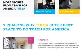 Teach for America Tulsa