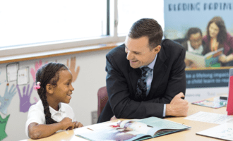 Meet the new executive director of Reading Partners